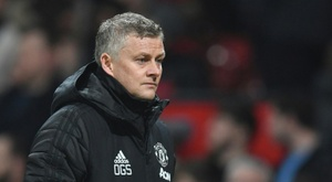 Solskjaer is under pressure. AFP