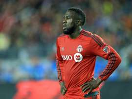 Jozy Altidore, pictured on May 7, 2016, faces up to eight weeks out after suffering the injury while taking a penalty during a Major League Soccer clash with the Vancouver Whitecaps