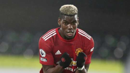 Paul Pogba is planning to stay at Man Utd for now. AFP