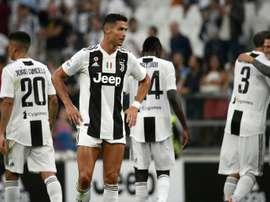 Juventus - Parma: onzes iniciais confirmados. AFP