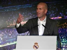 Zidane parle de son passé de joueur. AFP