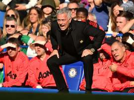 Mourinho was involved in an altercation at Stamford Bridge. AFP