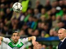 Rodriguez is happy at Wolfsburg. AFP