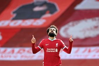 El agente de Salah volvió a dejar un mensaje en las redes. AFP