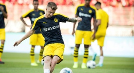 Reus admits it will be a tough game, but believes his side can win. AFP