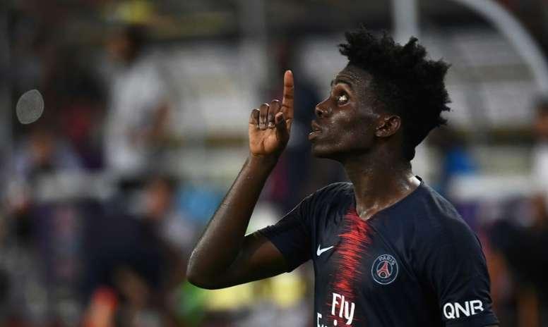 En Francia aseguran que el Lille pagará 10 millones por Weah. AFP