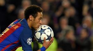 Neymar, une stratégie précise pour un retour au Barça ? AFP