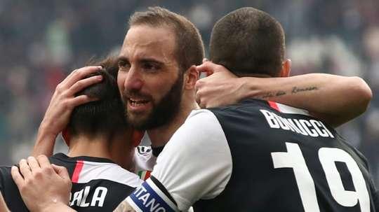 Les plans de la Juventus pour Gonzalo Higuain. AFP