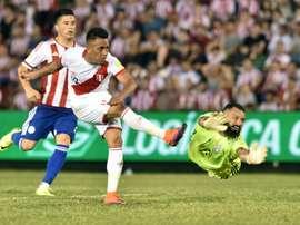 Christian Cueva también jugó en el Rayo. AFP