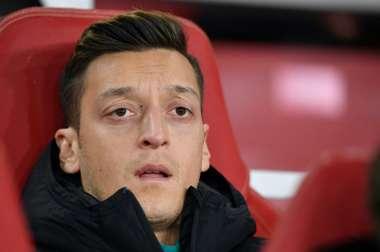 Özil acusó al Arsenal de desleal. AFP