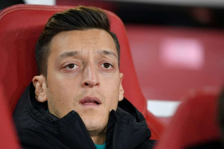 Si Özil part, ce sera pour Fenerbahçe ou la MLS. AFP