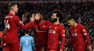 Liverpool, déjà qualifié pour la prochaine Ligue des Champions. AFP