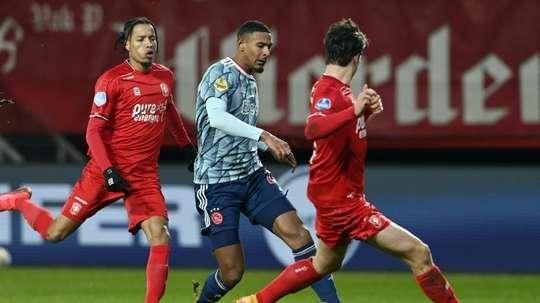 Haller encore décisif dans la victoire de l'Ajax Amsterdam. AFP