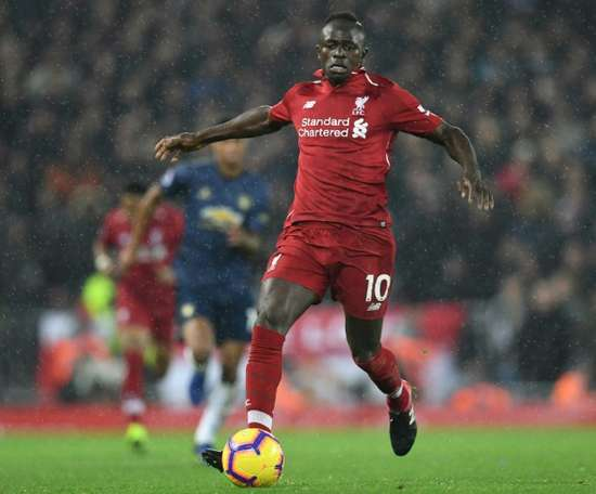 Sadio Mane leads the way for African stars in Europe. AFP