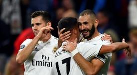 Champions du monde. AFP