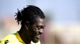 Os três clubes que reabrem a porta da Premier por Adebayor. AFP