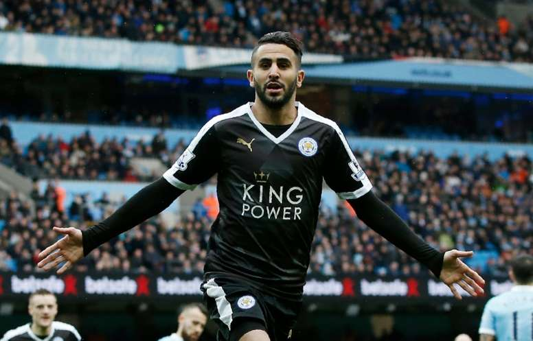 new concept bd5d6 b3919 Leicester City and Riyad Mahrez gaining fans in Algeria ...