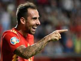 Villarreal s'intéresse à Paco Alcacer. AFP