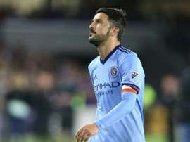 David Villa of New York City FC