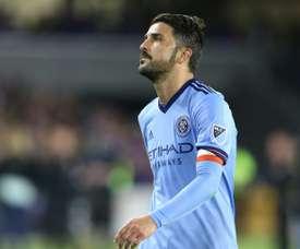 David Villa of New York City FC