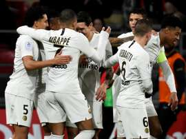 PSG back to winning ways. AFP