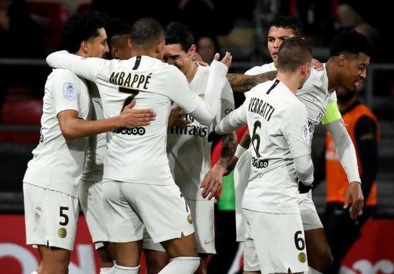 Mbappé hizo un tanto y pudo marcar más. AFP