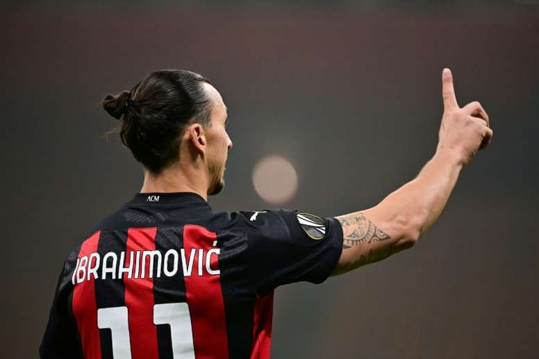 Ibrahimovic decide l'incontro. AFP