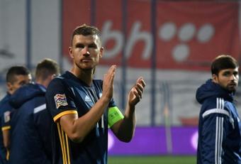 Dzeko jugará en el Inter de Milán. AFP