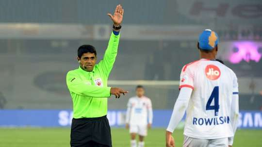 Referees under fire in India's ISL. AFP
