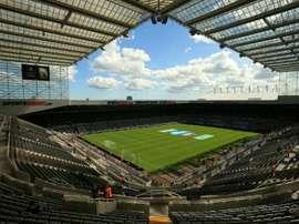 Le rachat de Newcastle s'embourbe. AFP