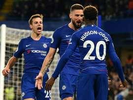 Chelsea to fight for Hudson-Odoi, despite transfer ban. AFP