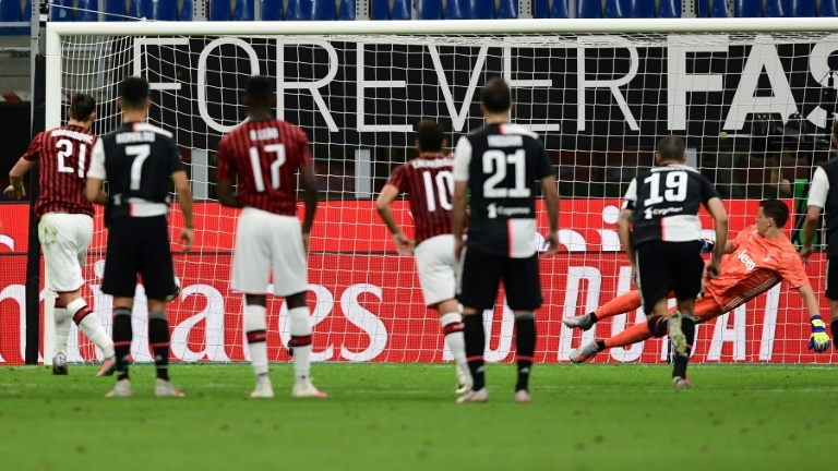 Milan hits back with three goals in five minutes to floor Juve