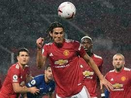 Manchester United drew 0-0. AFP