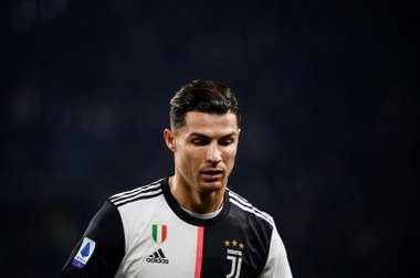Cristiano, substituted and disappointed. AFP