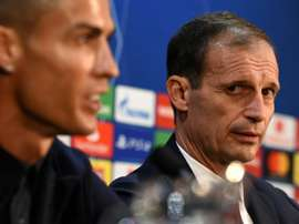 Juventus manager Massimiliano Allegri is not taking any chances against Cagliari. AFP