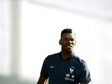Pogba says the armband does not affect him. AFP