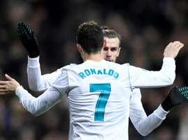 Personne ne court comme Bale. AFP