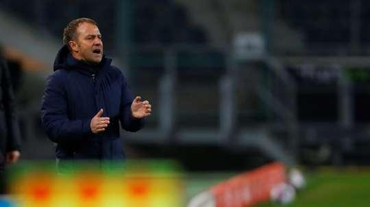 Hansi Flick rassuré après la nouvelle victoire du Bayern. AFP