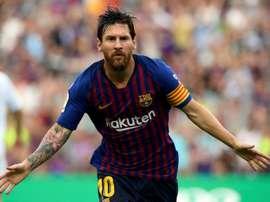 Messi est synonyme de record. AFP