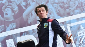 Fleetwood Town manager Joey Barton has denied allegations he was involved in a tunnel brawl. AFP
