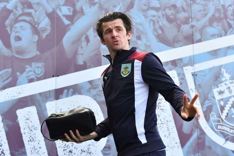 The latest statement from Joey Barton. AFP
