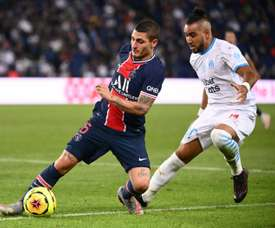 Marco Verratti and Paredes will miss the Man Utd match. AFP