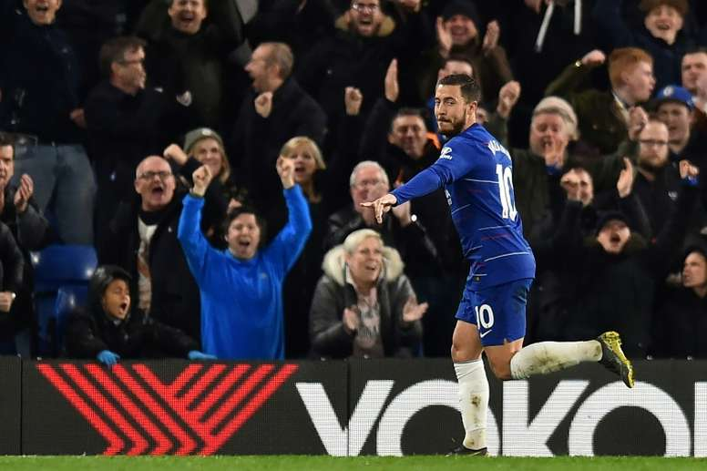 Hazard pense au 'transfert request'. AFP
