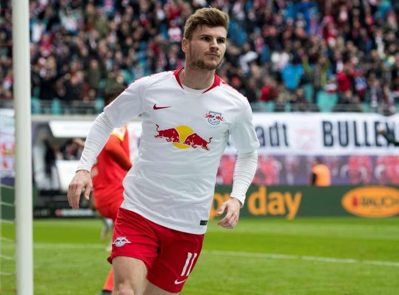 Divorcio entre RB Leipzig y Werner. AFP