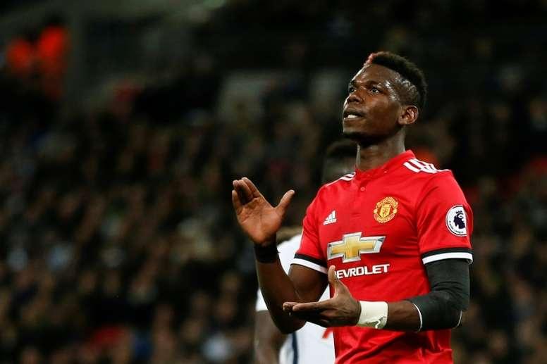 El futuro de Paul Pogba podría estar lejos de Mánchester. AFP