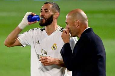 393 goals in Zidane's first spell and 108 in the second. AFP