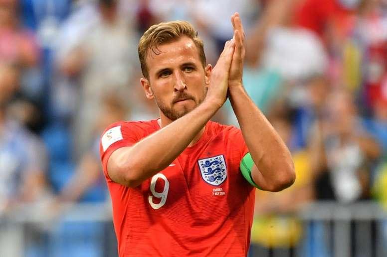 Redknapp believes Kane is the best striker in the world. AFP
