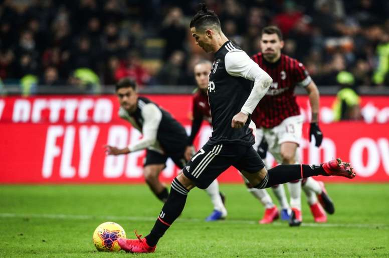 Late Ronaldo Penalty Snatches Draw For Juventus Besoccer