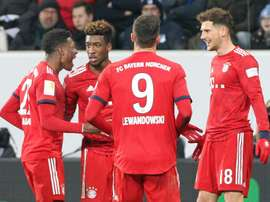 Goretzka shines as Bayern win at Hoffenheim to halve Dortmund lead
