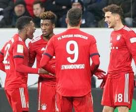 Goretzka shines as Bayern win at Hoffenheim to halve Dortmund lead